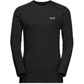 Jack Wolfskin Sky Flex Koszulka z długim rękawem Kobiety, black